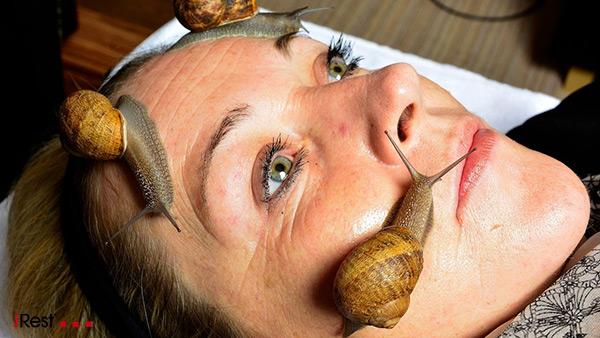 ماساژ حلزون : عجیب ترین ماساژهای دنیا