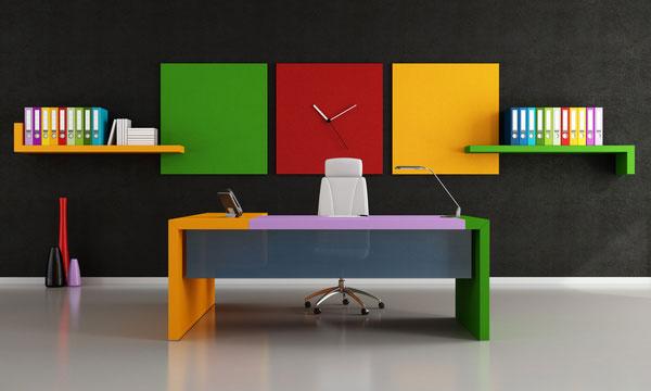 رنگ درمانی در محیط کار