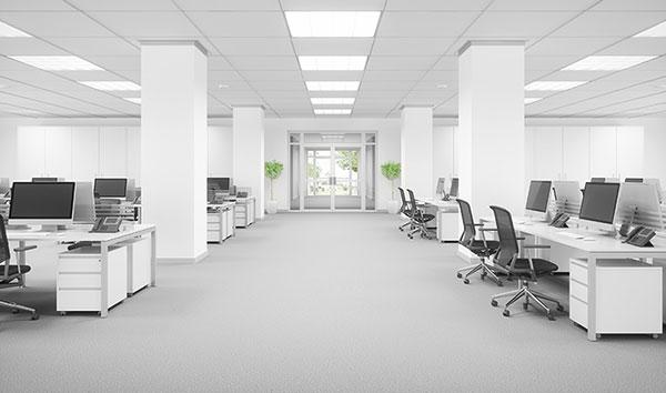 خاصیت رنگ سفید در محیط کار